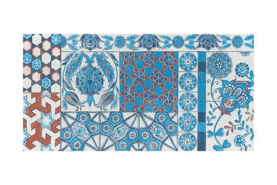 Turkish Tiles-Kathrine Lovell-Art Print