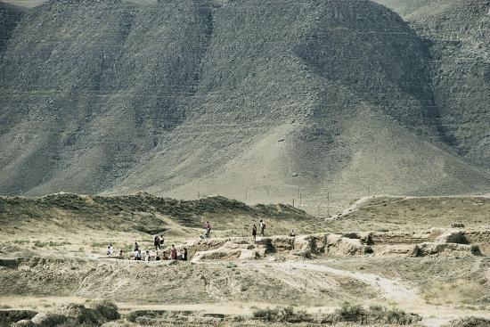 Turkmenistan, Ruins of Nisa, UNESCO World Heritage List, 2007--Giclee Print