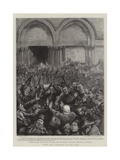 Turks and Christians in the East-Sydney Prior Hall-Giclee Print