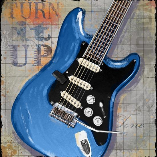 Turn it Up-Jim Baldwin-Art Print