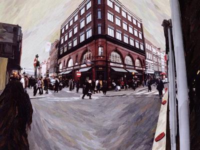 Turn Left for Neal Street, 1998-Ellen Golla-Giclee Print