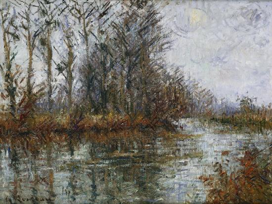Turn of the Eure; Tournant De L'Eure-Gustave Loiseau-Giclee Print