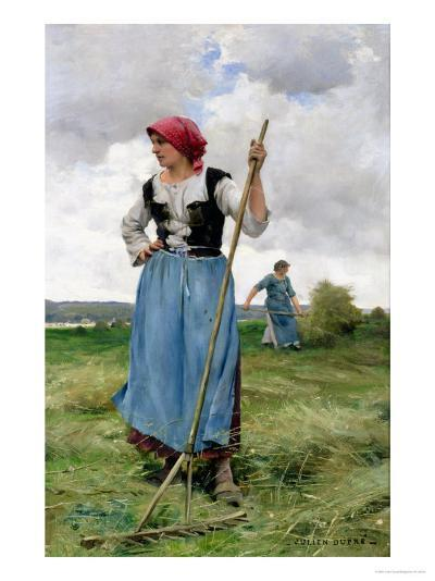 Turning the Hay-Julien Dupr?-Giclee Print