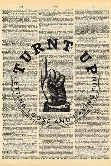 Turnt Up--Art Print