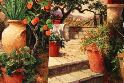 Turo Tuscan Orange-Art Fronckowiak-Art Print