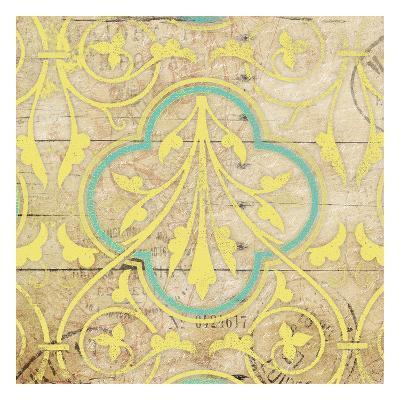 Turq Pattern 7-Jace Grey-Art Print