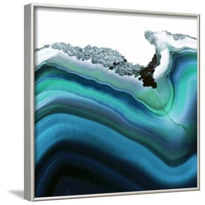 Turquoise Agate A--Framed Photographic Print