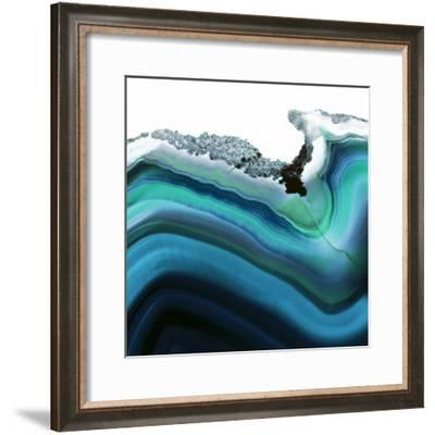 Turquoise Agate A--Framed Premium Photographic Print