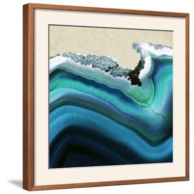Turquoise Agate B--Framed Photographic Print