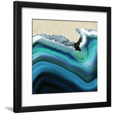 Turquoise Agate B--Framed Premium Photographic Print