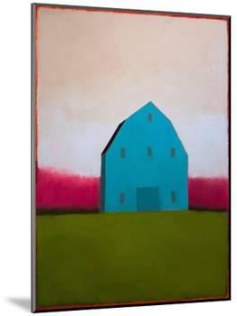 Turquoise Barn-Tracy Helgeson-Mounted Art Print
