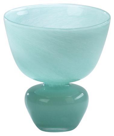Turquoise Bowl Vase