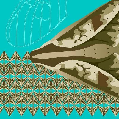 Turquoise Kai-Belen Mena-Giclee Print