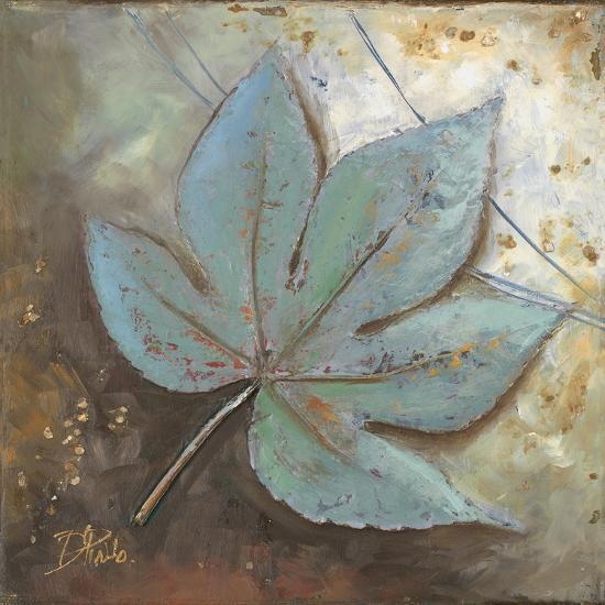 Turquoise Leaf II-Patricia Pinto-Premium Giclee Print