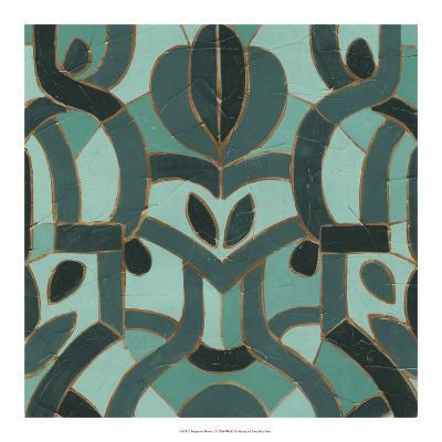 Turquoise Mosaic I-June Erica Vess-Giclee Print