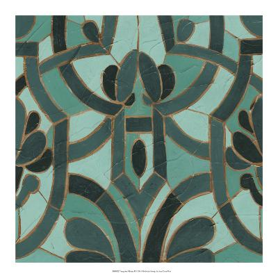 Turquoise Mosaic II-June Erica Vess-Giclee Print