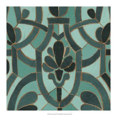Turquoise Mosaic III-June Erica Vess-Giclee Print