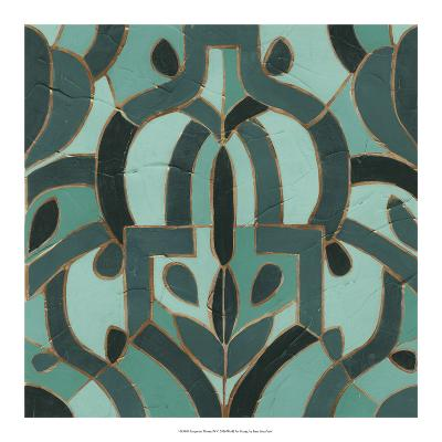 Turquoise Mosaic IV-June Erica Vess-Giclee Print