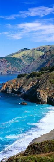 Turquoise Pacific Waters, California--Photographic Print