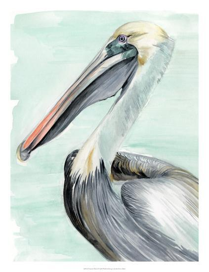 Turquoise Pelican II-Jennifer Paxton Parker-Giclee Print