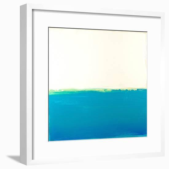 Turquoise Sea-Don Bishop-Framed Art Print