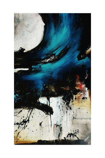 Turquoise Splash II-Rikki Drotar-Giclee Print