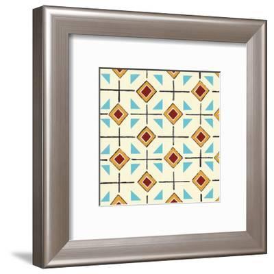 Turquoise Tango-Hope Smith-Framed Art Print