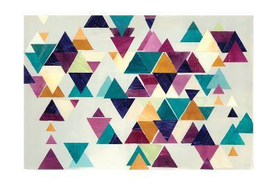 Turquoise Trail I-Jeni Lee-Art Print