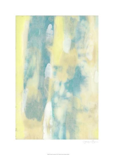 Turquoise Transparency I-Jennifer Goldberger-Limited Edition