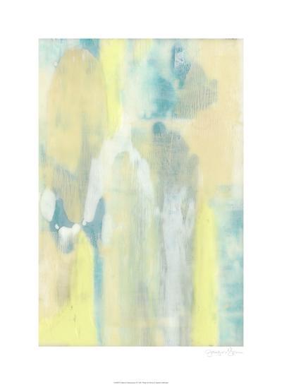 Turquoise Transparency II-Jennifer Goldberger-Limited Edition