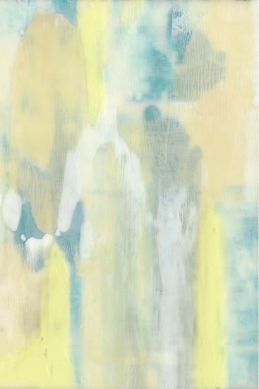 Turquoise Transparency II-Jennifer Goldberger-Premium Giclee Print