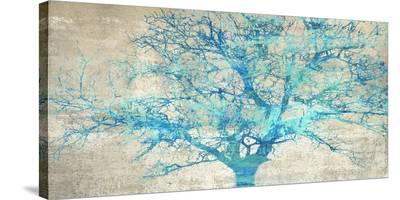 Turquoise Tree-Alessio Aprile-Stretched Canvas Print
