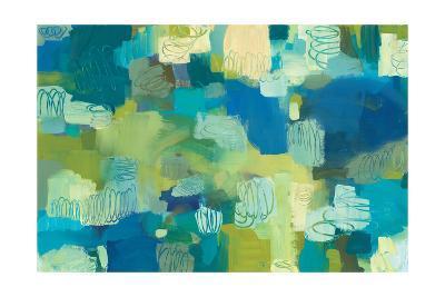 Turquoise Twist-Jeni Lee-Art Print