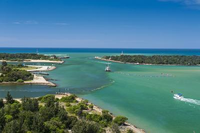 Turquoise Waters at Lakes Entrance, Victoria, Australia, Pacific-Michael Runkel-Photographic Print