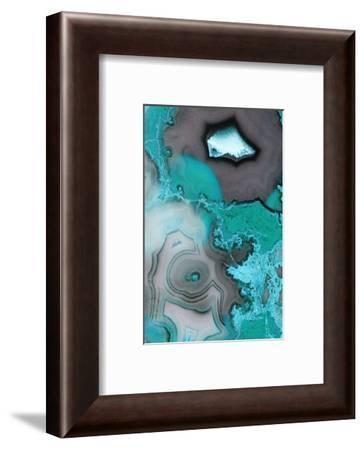 Turquoise--Framed Premium Photographic Print