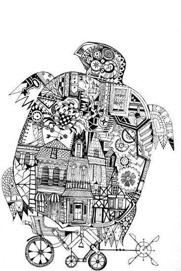 Turtle 1-Oxana Zaika-Giclee Print