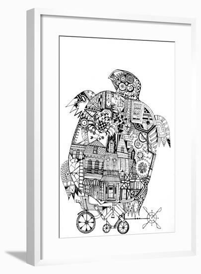 Turtle 1-Oxana Zaika-Framed Giclee Print