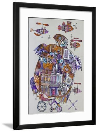 Turtle 3-Oxana Zaika-Framed Giclee Print