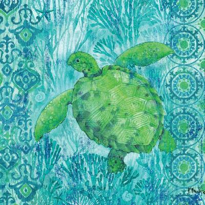 Turtle Batik Sq-Paul Brent-Art Print