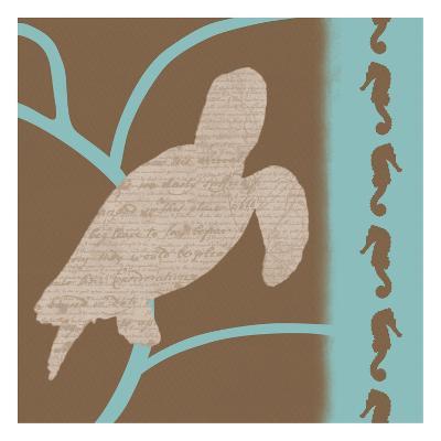 Turtle Pattern-Lauren Gibbons-Art Print