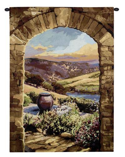 Tuscan Afternoon-Brad Simpson-Wall Tapestry