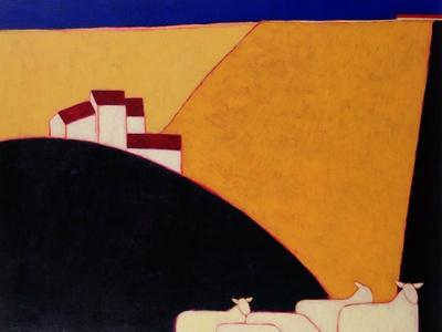 Tuscan Campagna, 1999-Eithne Donne-Giclee Print