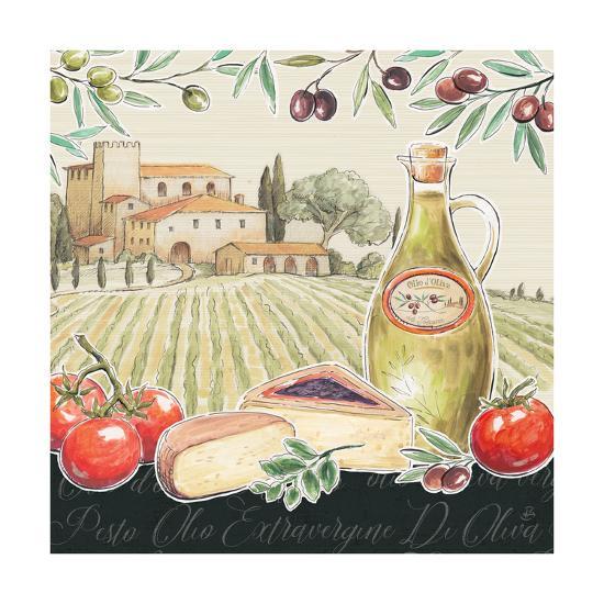 Tuscan Flavor III-Daphne Brissonnet-Art Print
