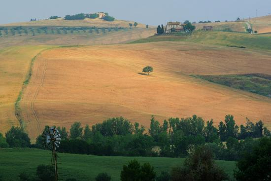 Tuscan Hill II-Robert Goldwitz-Photographic Print