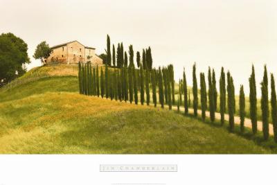 Tuscan Hills-Jim Chamberlain-Art Print