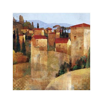 Tuscan Hillside-Keith Mallett-Giclee Print