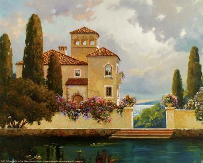 Tuscan Home II-V^ Dolgov-Art Print