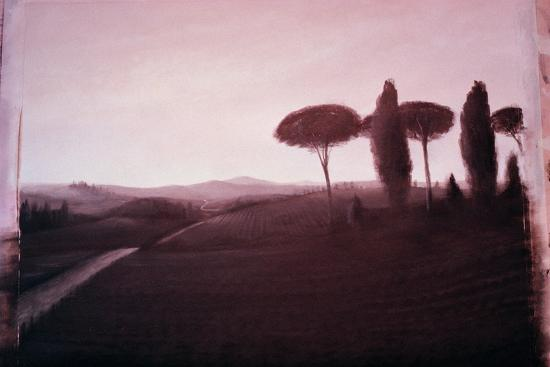 Tuscan Landscape, 1992-Lincoln Seligman-Giclee Print