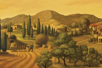 Tuscan Landscape-Dan Craig-Giclee Print