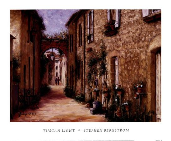 Tuscan Light-Stephen Bergstrom-Art Print